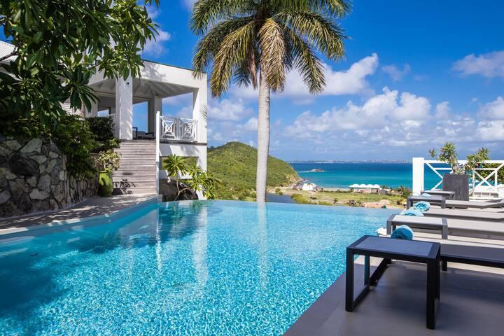 Villa Casa Branca in Anse Marcel by Personal Villas - Stunning Ocean Views