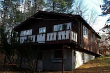 Adirondack cottage by Loon Lake