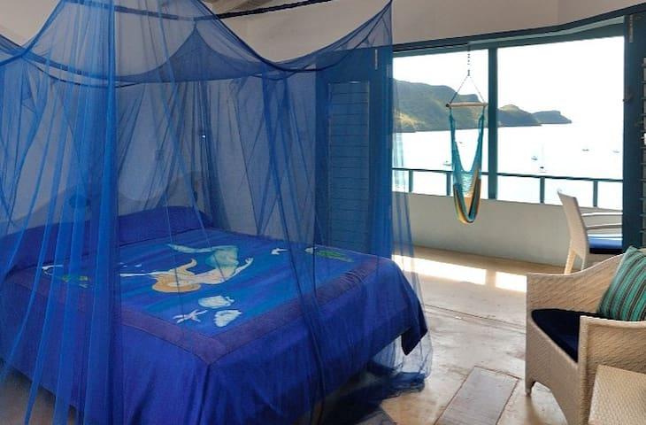 Both bedrooms have wonderful ocean views