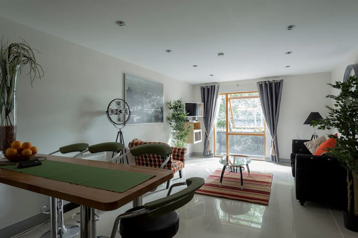 Two bedroom Docklands Apartment.
