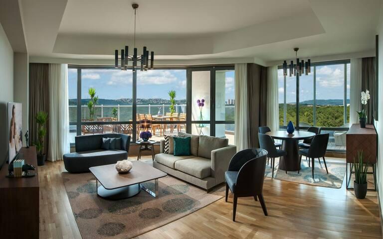 Luxury rooms in maslak Istanbul