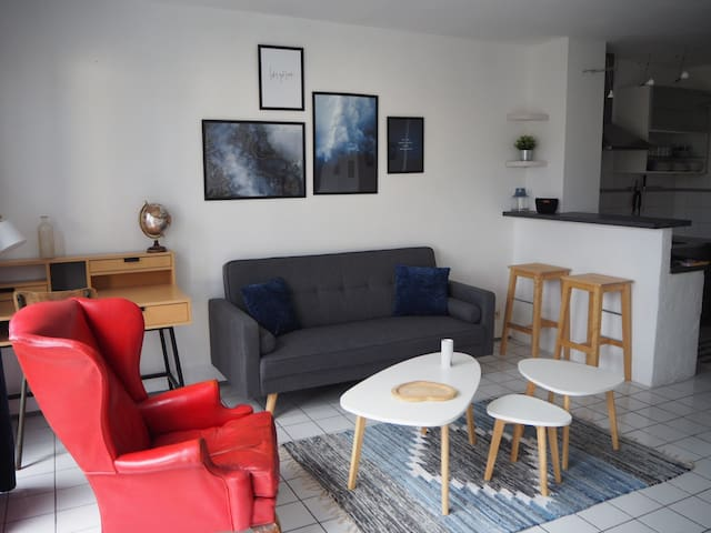 Cosy appartement centre ville troyes proche gare