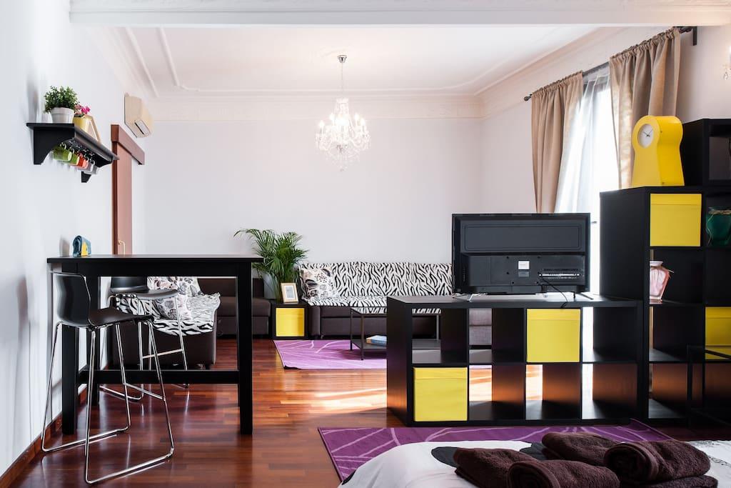 Hermosa habitaci n en centro s1 appartamenti in affitto for Affitti appartamenti barcellona spagna