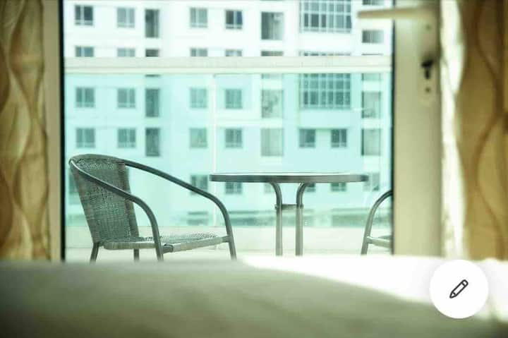 DS Studio Unit with balcony at Beacon Makati