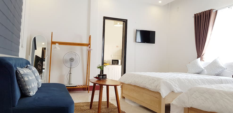 #2 Downtown house 57m2, 2 beds, spacious bathroom