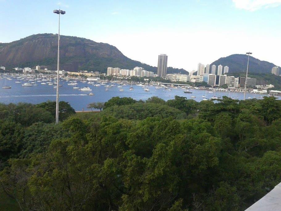 Vista para o Aterro do Flamengo