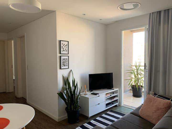 Chácaras Primavera/Mansões Apartamento Completo