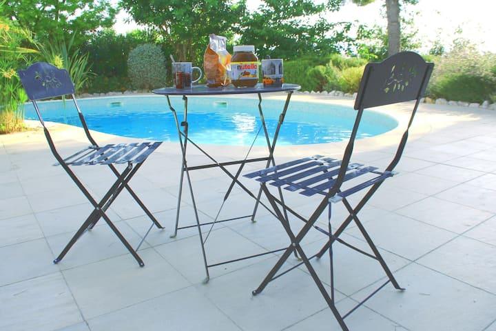 Très beau 2 pièces 48m2 avec terrasse/ piscine