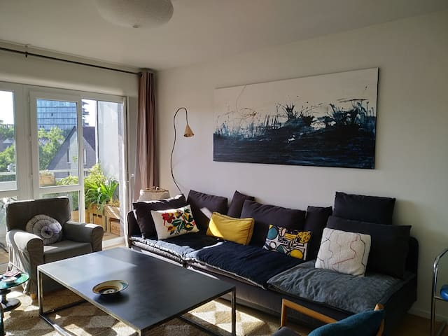 belle chambre avec accès terrasse