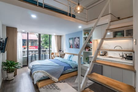 Stunning Balcony Loft  in  ❤️  of Old quarter