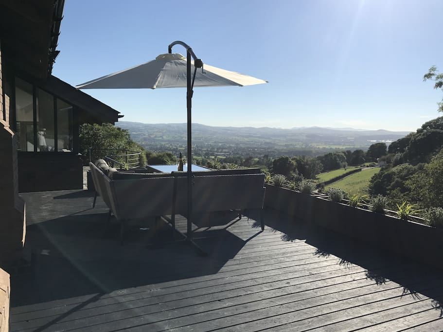 A deck with a view