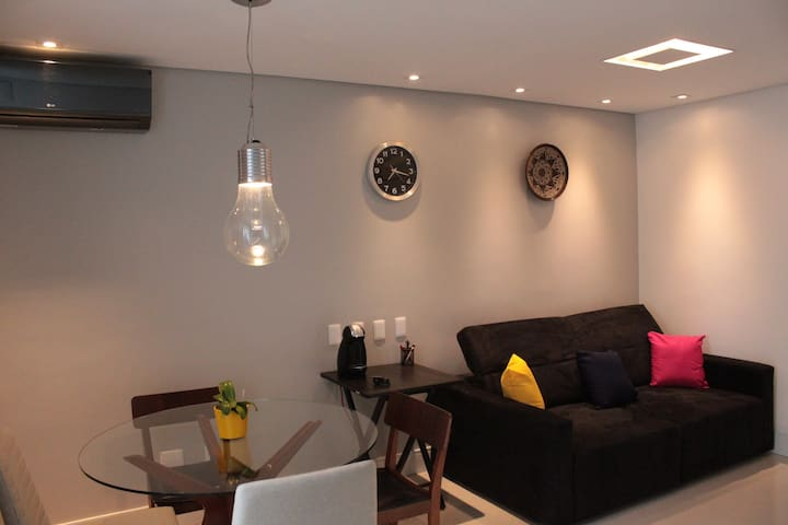 Beautiful apartment in the best neighborhood in SP - São Paulo - Apartemen