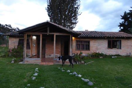 Cozzy cabin in Cotacachi