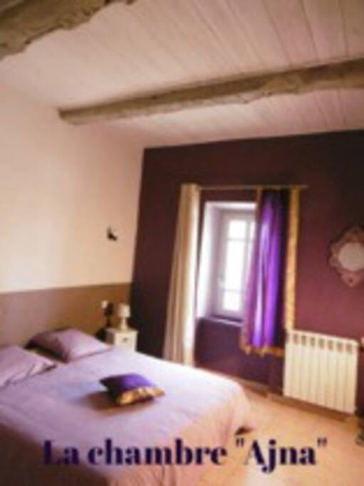 chambre Ajna (2 lits possibles)