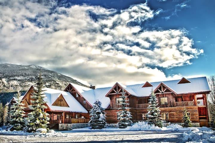 Private Lodge Room at Glacier House Resort