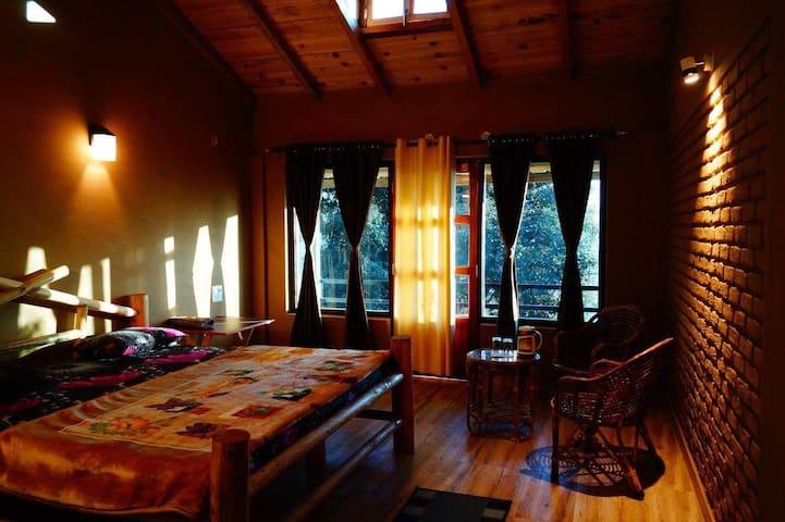 Paradise on earth, Binsar eco camp - Dhaulchhina - Hut