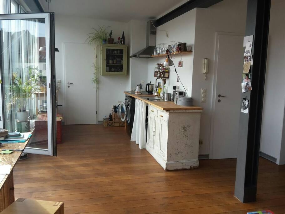 Wohnzimmer - Küche 1