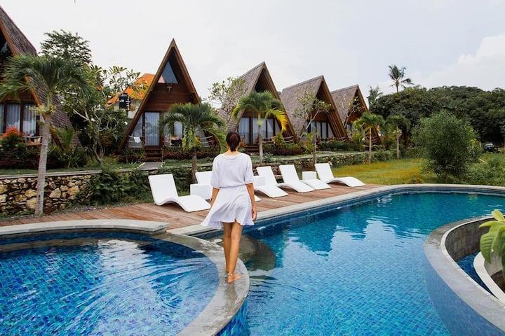 Adventure 3Room Nusa Penida Pool Breakfast SAbo