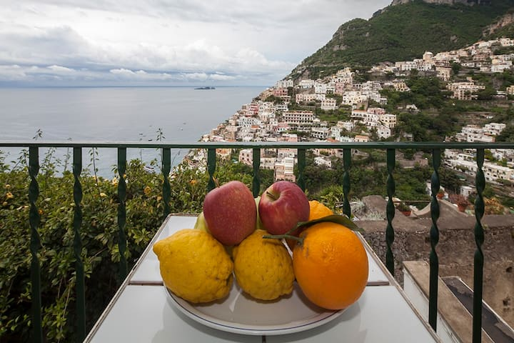 Lilly-Spectacular Views Town & Sea - Positano - Apartament