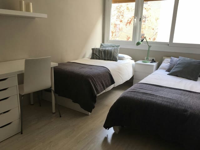 Bright new room - Barcelona