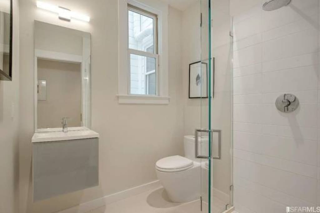 Guest bathroom - Private bathroom just for you.