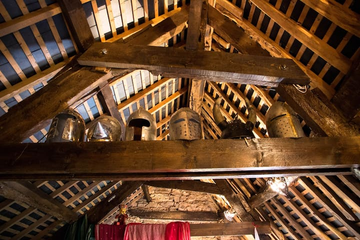 The 14th Century Knight's Chamber - Comblessac - Loft