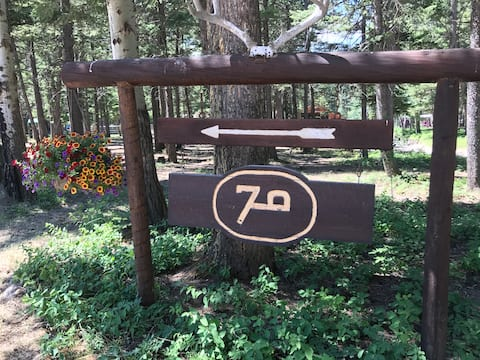 The Bob Marshall Cabin, Rocky Mountain Front