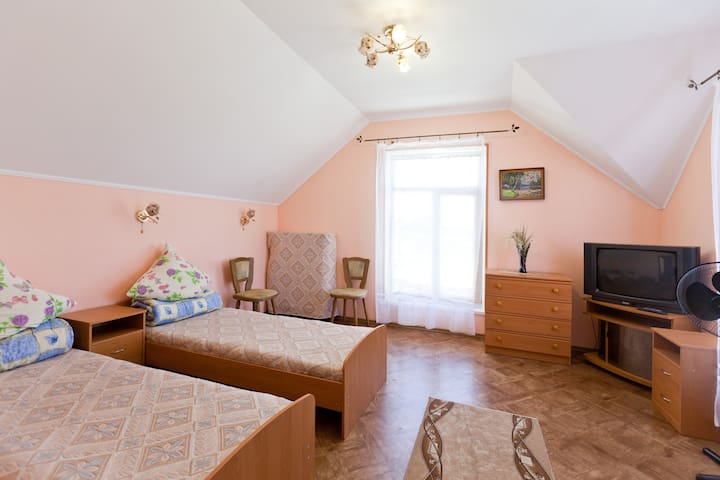 Cozy hotel in Odessa for travelers - Bilyaivs'kyi district - บ้าน