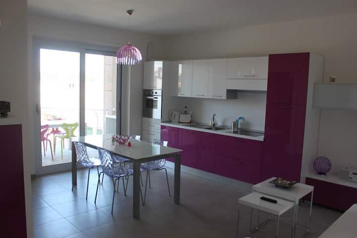 Charming apartment with 2.5 rooms in Giulianova