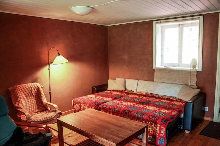 A cosy city cottage near central Tartu
