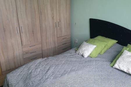 Utulny byt s houpackou a akvarim v loznici - Hradec Králové