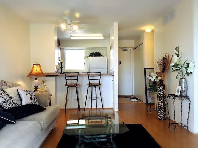 Joyful : Single Room : Easy Access - Honolulu