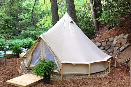 WNC Glamping Tent-Cabin #11 - Hendersonville - Barraca