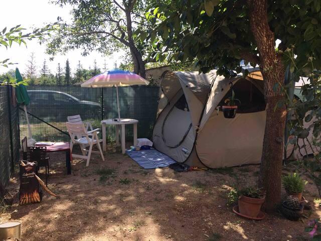 SPAZIO TENDA per campeggiatori