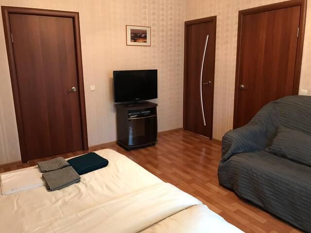 Апартаменты на Крупской  8 к.2