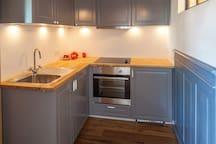 Small kitchen for guests - kleine Küche für Gäste
