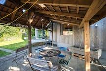 Coverd patio - gedeckter Sitzplatz