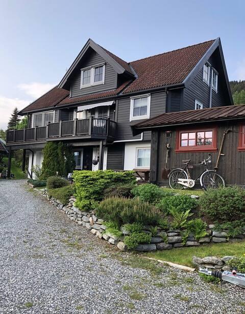 Hus til leie med nydelig utsikt