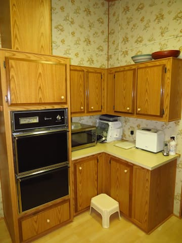 Kitchen corner with appliances