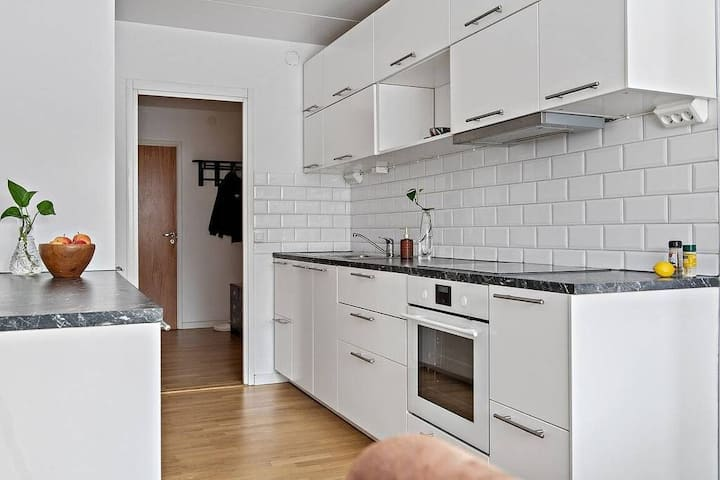 Cozy and nice 75 sqm apartment near nature & city