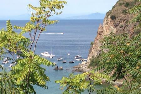 Villa Ambra...panorama da sogno - Lacco Ameno - วิลล่า