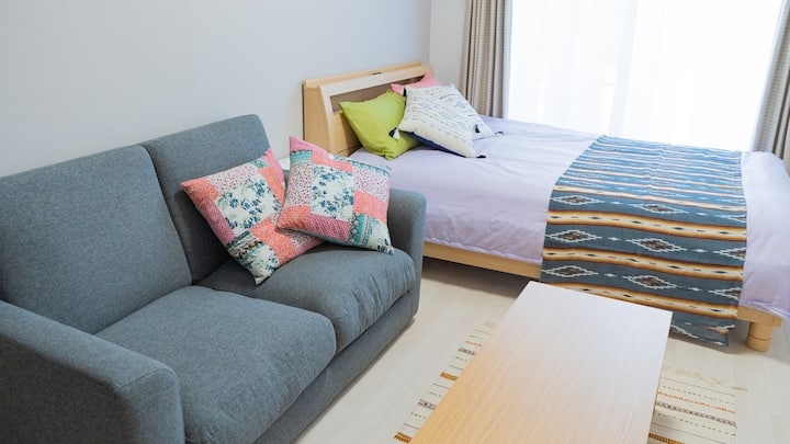 Cosy apartment in north of Okinawa mainland