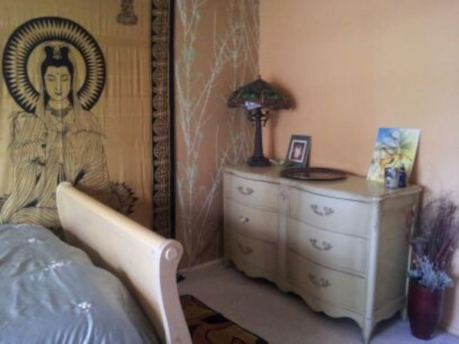 Spacious, Inviting Room.