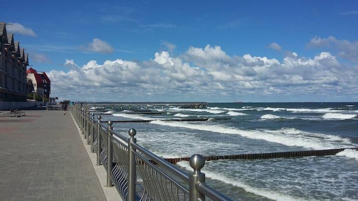 Квартира на побережье Балтийского моря