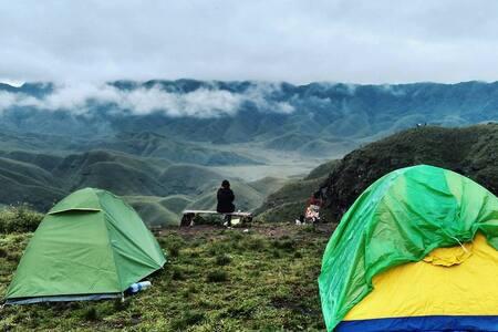 Camp David at Hornbill festival, Kigwema - Tent 9