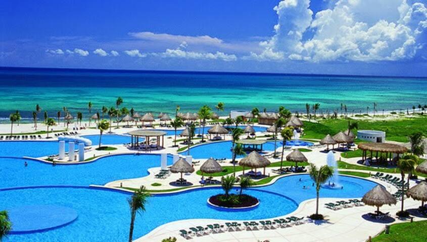 Las mejores vacaciones Mayan Palace Expectacular - Playa del Carmen - Apartment