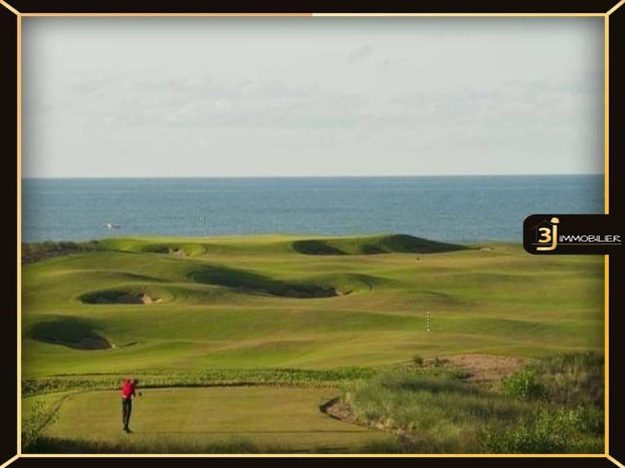 Belle villa sur le golf roya; el jadida