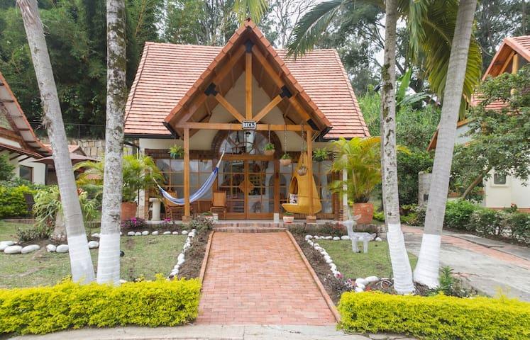 Casa campestre en conjunto cerrado - Silvania - Cabana
