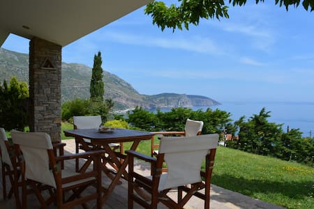 Evia stunning villa breathtaking views - Korasida