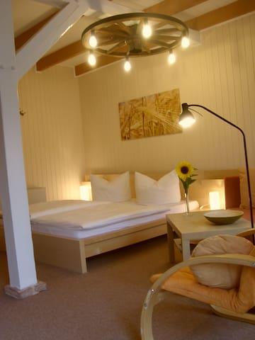 Traumhaft idyllisch,ruhig&imGrünen - Thesenvitz - Apartment